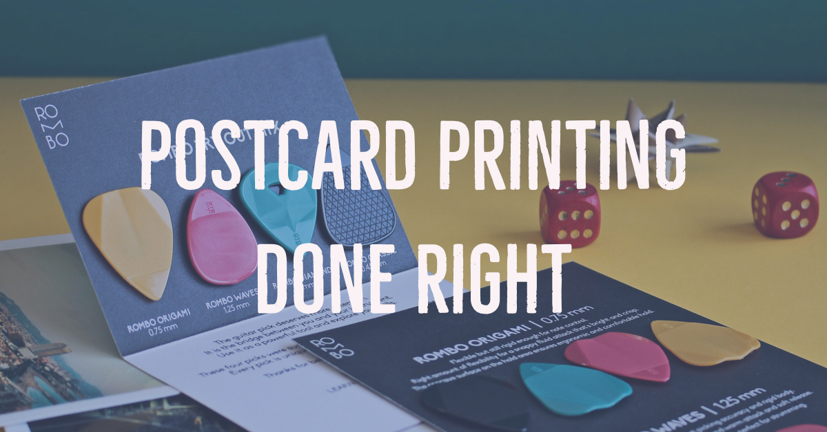 Best Postcard Printing in Dallas